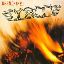 """Y & T """"OPEN FIRE""""  lp Germany mint"""
