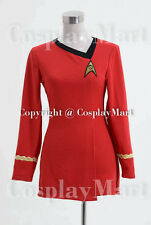 Star Trek TOS The Female Duty Uniform RED/BLUE/YELLOW