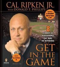Get in the Game by Cal Ripken, Jr. Audiobook Abridged read by Cal Baseball NEW