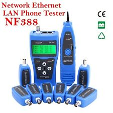NF-388 Network Cable Tester LAN RJ45 RJ11 USB Cable Coaxial Tester