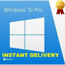 Microsoft Windows 10 Pro Key Activation OEM Product License Code 32/ 64 bit Link