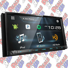 Kenwood DDX774BH Double 2 DIN DVD/CD Player Android iPhone HD Radio Bluetooth