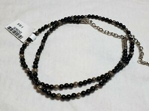 John Hardy Men's Sterling Silver Classic Chain Onyx Beaded Necklace