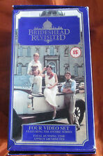 Brideshead Revisited - Complete - Boxed Set - Rare Box - CVI 1300 - VHS PAL x 4