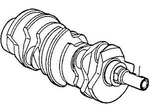 Ford Mercury 3.0L OEM Engine Crankcase Assembly 2F1Z-6303-AA