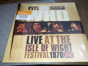 The Who - Live At The Isle Of Wight 1970 - Triple Orange Vinyl