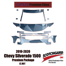 3M PRO Series Paint Protection PPF Kit for 2019-2020 Chevy Silverado 1500 LT