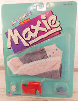 "Hasbro Maxie Mix N Match Fashions Denim Pink Skirt 11.5"" Doll Clothing Vtg 1987"