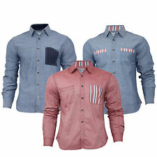New Men's Casual Designer Full Sleeve Cotton Shirts Sizes from S-XXL