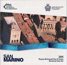 SERIE EURO BRILLANT UNIVERSEL - SAINT-MARIN 2014
