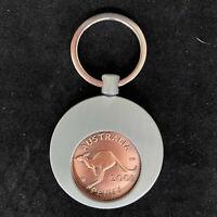 70th Birthday Anniversary Gift Present 1951 Australian Penny Popper Keyring