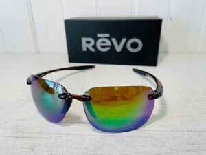 REVO RE1070XL 02 GN DESCEND XL Crystal Brown w Evergreen POLARIZED Suns $199