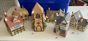 Department 56 Snow Village lot 1984 And 85 Lot Of 6