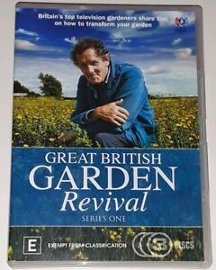 Great British Garden Revival (DVD, 2015, 3-Disc Set)