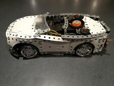 Genuine Meccano Car For Spairs or Rebuild. Running Gear ,Body ,Wheels ,Moter