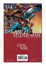 The Amazing Spider-Man Vol. 1 - #534 Civil War Marvel Comics September 2006