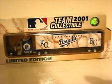 WHITE Rose Collectables Peterbilt 2001 Kansas City Royals Major League Baseball