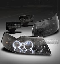 99-04 FORD MUSTANG HALO SMOKE PROJECTOR HEAD LIGHTS+BUMPER FOG LAMP KIT BASE GT