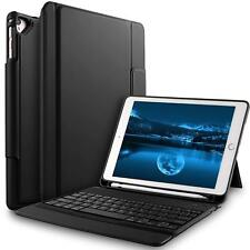 IVSO Apple ipad Pro 12.9 Wireless Bluetooth Keyboard Case Stylus Holder Tablet A