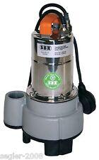 SBN - Schmutzwassertauchpumpe 24000 ltr./ h mit Schwimmschalter,  Edelstahl/Guss