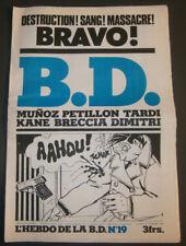 BD - L'HEBDO DE LA BD N°19 - TBE - Editions du Square - 13.02.1978