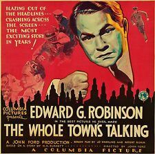 "Edward G. ROBINSON - ""The Whole Town's Talking"" - Jean Arthur - Great Movie! DVD"