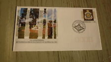 AUSTRALIAN MILITARY FDC, 1991 RSL 75th ANNIVERSARY, AUSTRALIAN LEGION 50th ANNIV