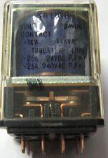 Relè  Relays OMRON TYPE MP2 DC24V 25A 240 VAc 25A 2 VIE