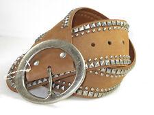 6146f3365b4 Rare Beauty!Women s CALVIN KLEIN studded leather hip belt S 32