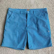 Quiksilver Men Size 40 Corduroy Turquoise Shorts Good Condition Retails For $100