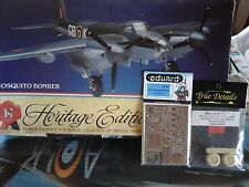 MOSQUITO BOMBER N.14 HERITAGE EDITION 1/48 SCALE MONOGRAM+PHOTOETCHED+RESIN PART