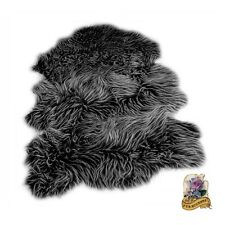 Thick Shag Sheep Rug Carpet Premium Faux Fur Area Sheepskin Bear Skin 5 colors