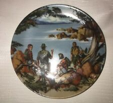 Vintage The West Avon American Portraits Plate by Don Sheffler 1985
