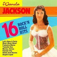 Wanda Jackson 16 rock'n roll hits [CD]