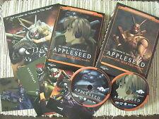 DVD MANGA APPLESEED THE BEGINNING EDICIÓN ESPECIAL NUMERADA 2 DISCOS USADO