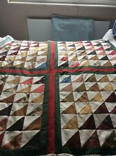 Handmade Patchwork Quilt One Of A Kind