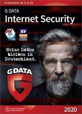 G-Data Internet Security 2020 Vollversion, 3 Lizenzen Windows, Mac, Android, iOS