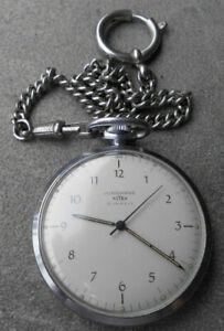 Alte Taschenuhr Junghans Astra 15 Jewels Nachlass