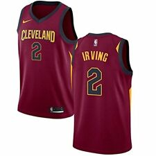 Kyrie Irving Cleveland Cavaliers Nike Youth X-Large 18/20 Red Jersey Dri Fit $70