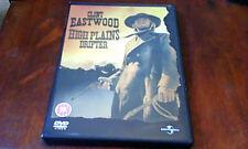 High Plains Drifter UK DVD 2003 Clint Eastwood Giallo Gothic Spaghetti Horror