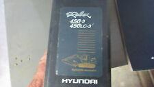 HYUNDAI 450-3, 450LC-3 Excavator Parts Manual #91E7-30030