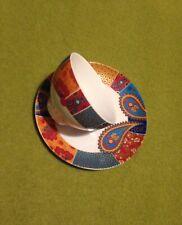 Pier Porcelain Tea Cup And Saucer Bombay Paisley