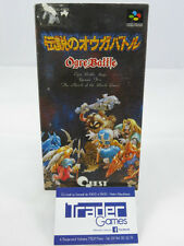 Ogre Battle: The March of the Black Queen, Super Famicom, Japanese, Complete