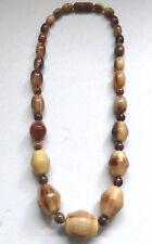 Vintage Art Deco Horn Graduated Necklace Gorgeous