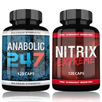 Testosteron Booster Nitrix Pre Workout Booster Muskelaufbau Testo Booster Anabol