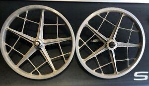 Motomag 1 BMX wheels wheel set Old School BMX Mongoose Webco