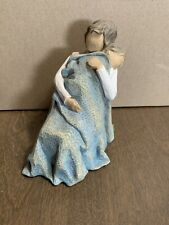 Willow Tree Figurine The Quilt Mother Rocking Child Demdaco 2010 Susan Lordi