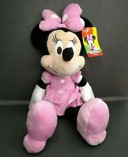 """Mickey Mouse Clubhouse Minnie Mouse Disney Junior 18"""" Pink Plush Stuffed Toy"""