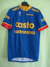 Maillot cycliste Castorama Nalini Tour 1995 vintage jersey cycling - L