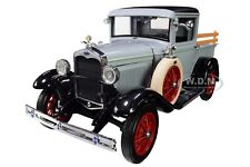 1931 FORD MODEL A PICKUP TRUCK FRENCH GRAY 1/18 DIECAST MODEL CAR SUNSTAR 6115